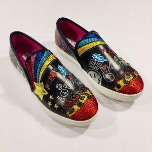 Steve Madden Colorful slip-on leather sneaker